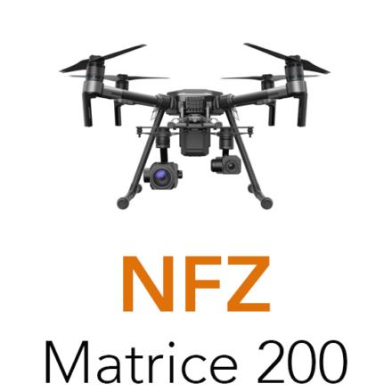 matrice 200 no fly zone limitation
